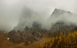 Утро в горах / Передышка перед восхождением.