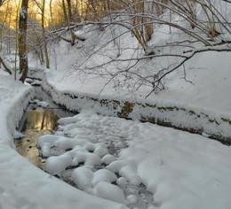 Зимний вечер .... / Парк Коломенское