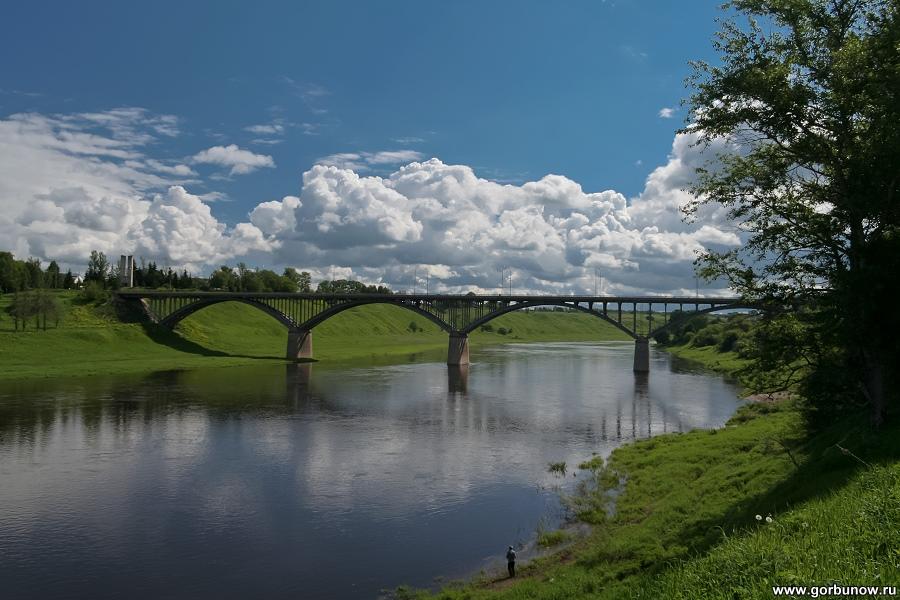 Мост через волгу старица мост через