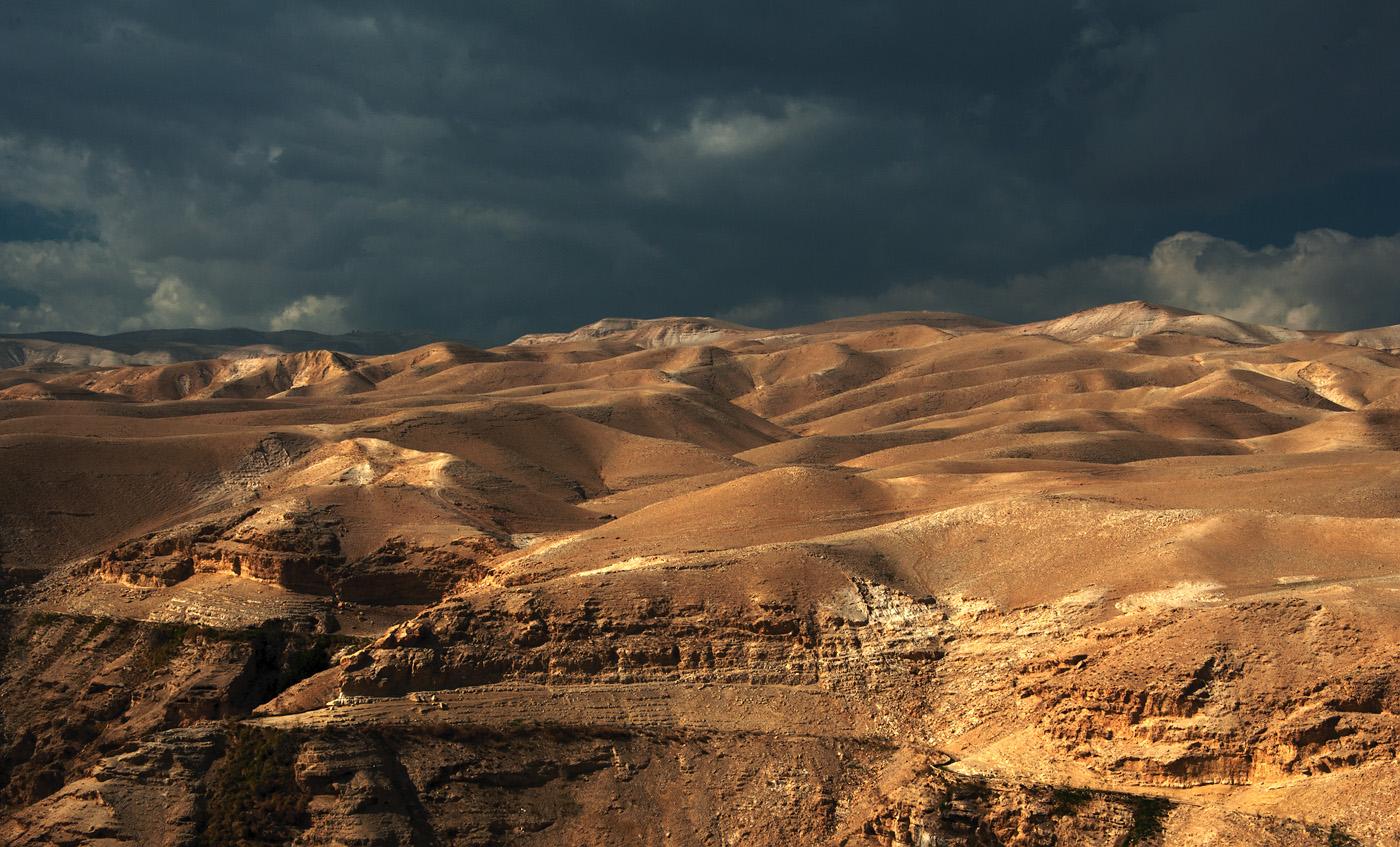 Тучи над Иудеей / Иудейская пустыня