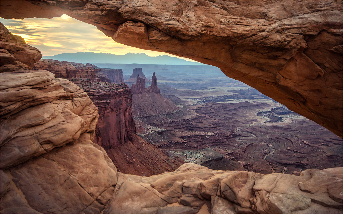 Однажды утром / canyonlands national park