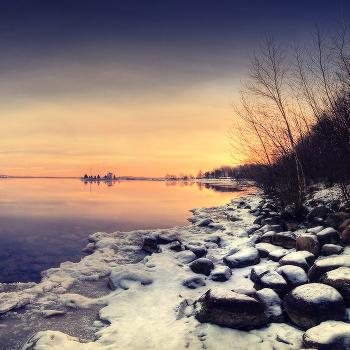 |   Минскоморский закат   |