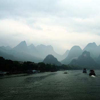 Китайские мотивы. На реке.